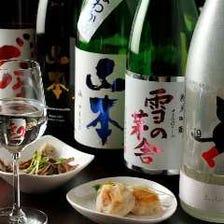 こだわりの日本酒をワイングラスで