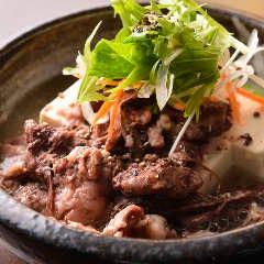 牛スジ豆腐煮