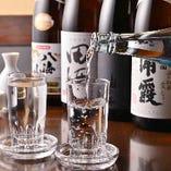 [ドリンクも豊富] 選りすぐりの銘酒や果実酒も多数ご用意。