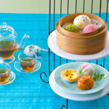 点心アフタヌーンティー(単品・紅茶 or 中国茶セット)