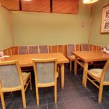 【テーブル】《4名様・6名様》ご家族でのご来店やお子様のお祝いなどに最適のお席
