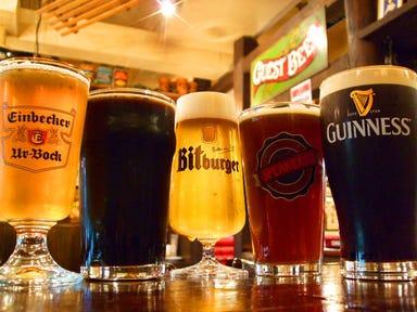ブルドッグ 銀座 クラフトビール  メニューの画像
