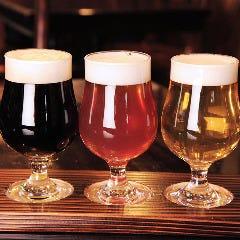 ◎樽生ビールテイスティングセット樽替わりで楽しめるビールをちょっとずつ飲めるセット♪