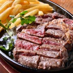 【 お肉 】ステーキ&チップス BIG SIZE 250g!!