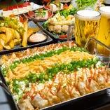 チーズタッカルビ風にお召し上がりいただける「餃子タッカルビ」