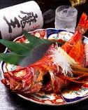 伊豆名物金目鯛の煮付け おつまみに定食に、お好みのスタイルで