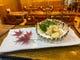 ふぐの白子天ぷらです。