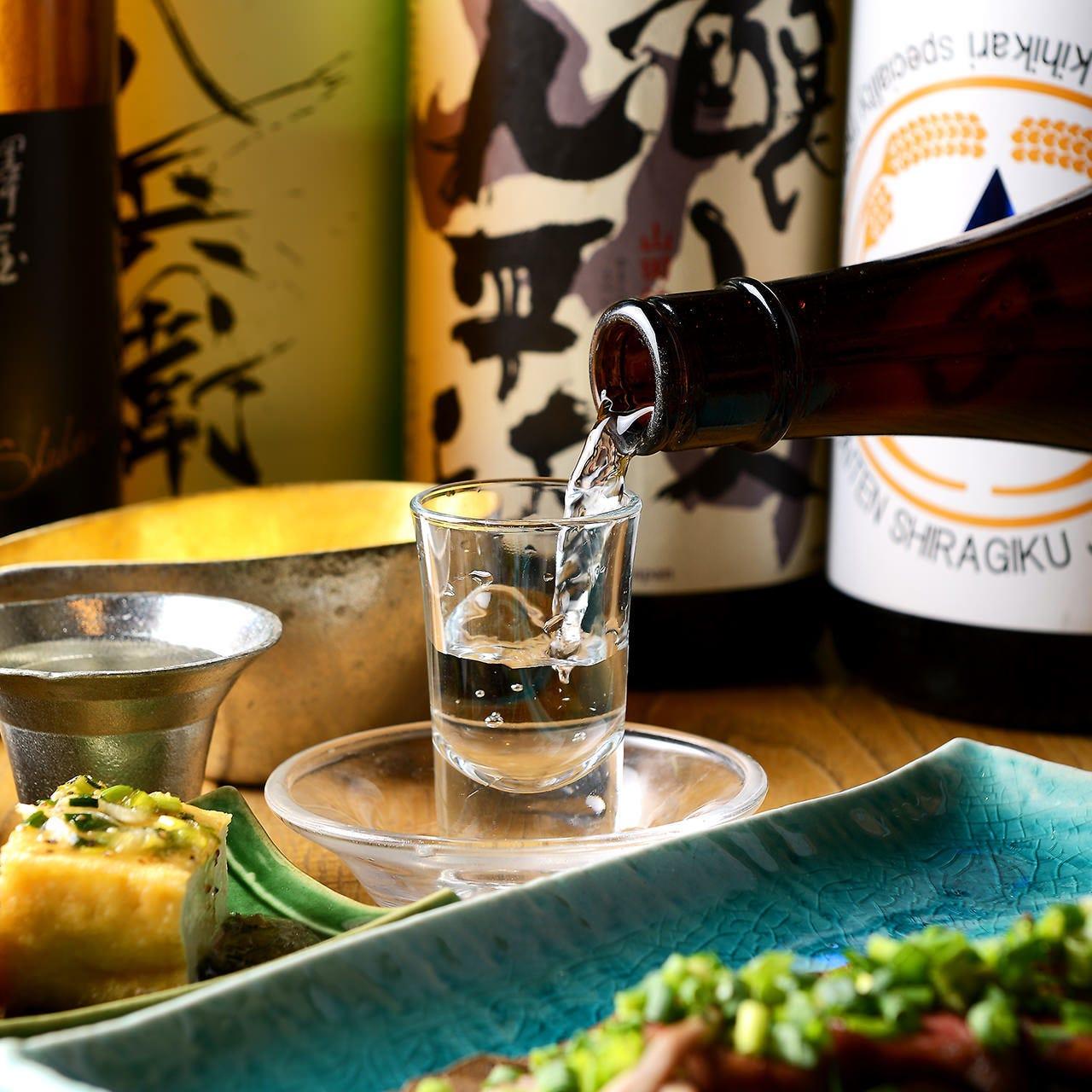 愛知の地酒やお酒に合う逸品が豊富