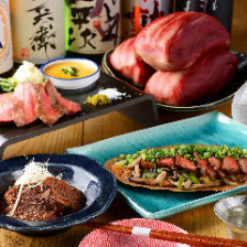 バラエティ豊かな名物の牛タン料理