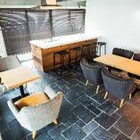 2階のプライベート空間♪テーブル席