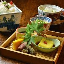 目利きした旬食材を堪能する日本料理