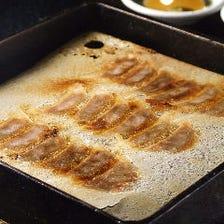 鉄鍋一口餃子