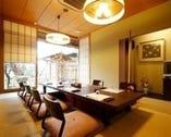 『竹の間』5~6名で御利用頂くのに、大変人気のお部屋です。