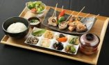 【ランチ】日替り串焼き6種盛り