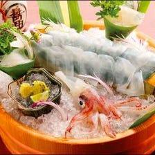 ◆直送された新鮮イカ