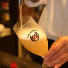 当店だけの樽生ベルギービール!!