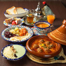 ◆栄養豊富なモロッコのパスタ