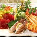 ・毎日市場で仕入れている魚は新鮮そのものです!