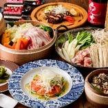 ・選び抜かれた創作和食、洋食の一品料理を御満足頂けます。