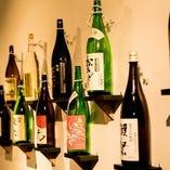 有名な日本酒から、限定物まで豊富に取り揃えております。