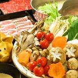 国産お野菜も食べ放題★お好きなものを好きなだけ♪