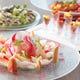 色とりどりの新鮮野菜を使ったお料理が多数ご用意