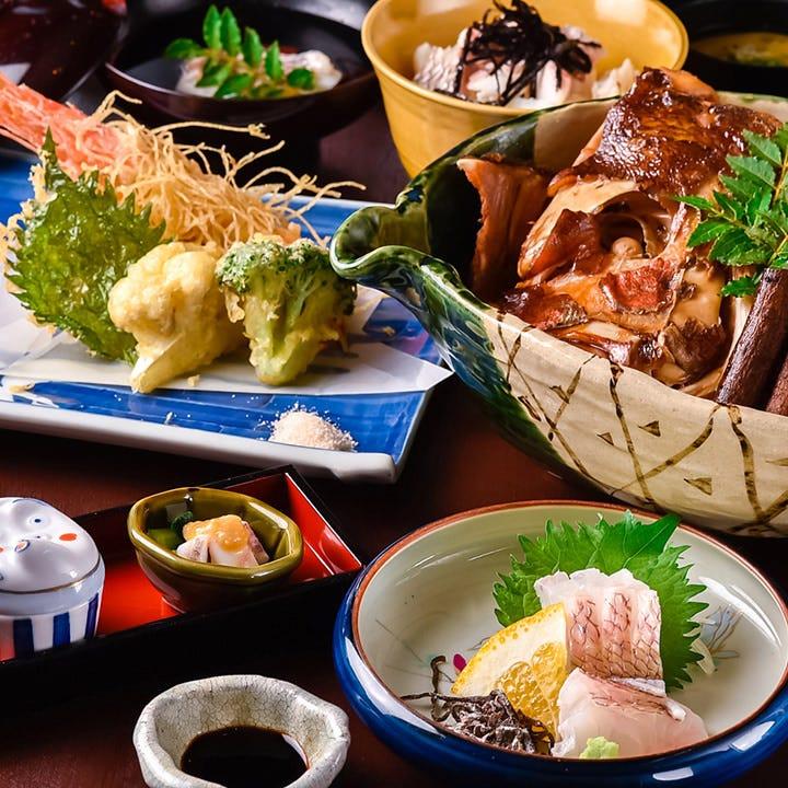 鯛と海老のお祝いコース <全9品> 宴会・飲み会・旬