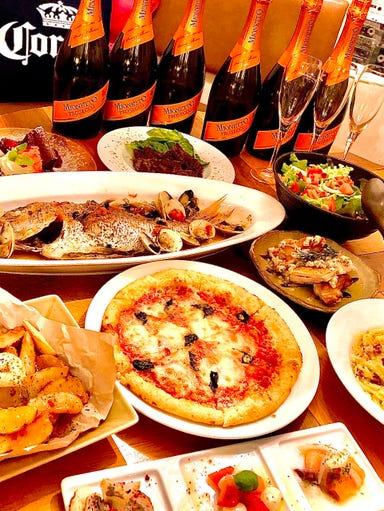 PIZZA&TACORICE MOAZA2(モアザ)  コースの画像