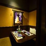 【水戸駅OPEN】 完全個室完備の大人プライベート空間。
