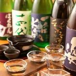 飲み放題メニューは全100種以上のラインナップ。日本酒や焼酎も