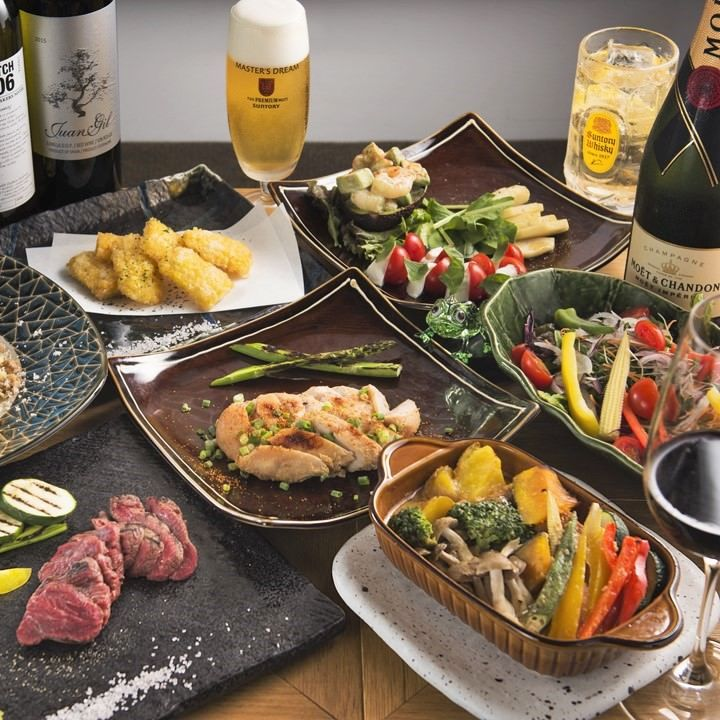 ♪窯焼き料理をメインとする季節の素材の宴・飲み会会コース♪