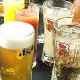 毎日開催ハッピアワー!19時まで生ビール&ハイボールが209円!