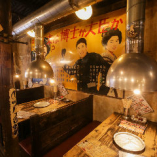 店内装飾はまさに昭和レトロ!どこか懐かしい落ち着いた店内。