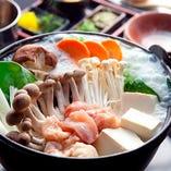 10時間以上煮込んだ特製スープが決め手! 名物しろ鍋