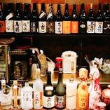 地酒、焼酎も多数。隠し酒もご用意してますのでご確認を・・・
