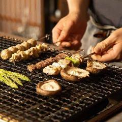 大山鶏のねぎま金串焼き