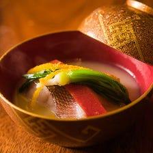 日本料理の礎を尊ぶ森脇の料理