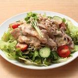 豚しゃぶサラダ(ゴマドレ or 和風ドレ)