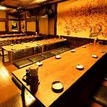 知立駅近くで個室座敷で宴会を楽しむ♪【フロア貸切(最大45名様まで)】