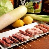 愛知県の奥三河鶏や旬の素材をふんだんに使用しています!