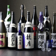 少酒や銘酒常時300種類以上の取揃え