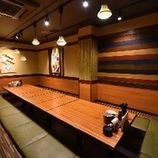各種ご宴会におすすめの個室完備!