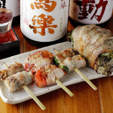 新鮮野菜と肉料理