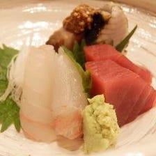 唐戸・小倉の魚市場から仕入れる鮮魚