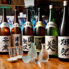 全国各地の日本酒もご用意