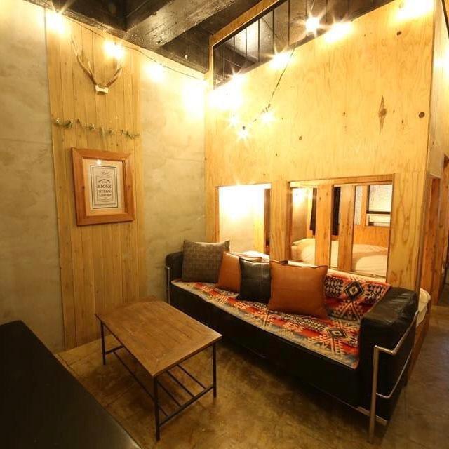 換気ばっちりの完全個室空間