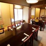 【全4部屋】大切な方とのご会食・顔会わせ 法事・慶事等にもご利用いただけます。