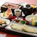 大切な日のご会食に便利な自慢のうなぎ御膳を各種ご用意