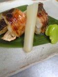 甘鯛の松茸包み焼 遠州灘の甘鯛と松茸は秋の味覚一番です