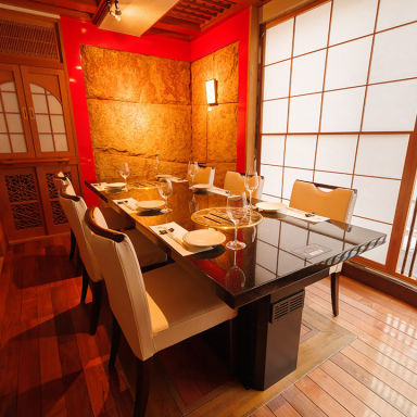 個室 高級A5和牛焼肉 麻布 韓日館 店内の画像